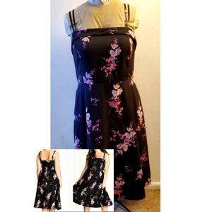 City Chic Orchid Dress Sz 18